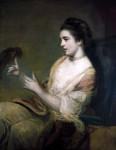 Живопись | Джошуа Рейнольдс | Китти Фишер с попугаем, 1763-64