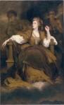 Живопись | Джошуа Рейнольдс | Сара Сиддонс в образе музы Трагедии, 1783
