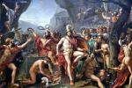 Живопись | Жак-Луи Давид | Леонид в Фермопилах, 1814