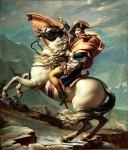 Живопись | Жак-Луи Давид | Наполеон на перевале Сен-Бернар, 1801