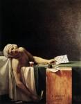 Живопись | Жак-Луи Давид | Смерть Марата, 1793