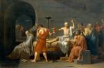 Живопись | Жак-Луи Давид | Смерть Сократа, 1787