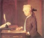 Живопись | Жан-Батист Симеон Шарден | Мальчик с юлой, 1738