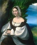 Живопись | Корреджо | Портрет дворянки, 1520