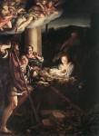 Живопись | Корреджо | Рождество Христово (Ночь), 1525-30