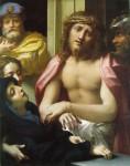Живопись | Корреджо | Явление Христа Народу (Се Человек), 1526