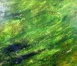 Живопись | Мехди Эбрагими Вафа | Золотое небо