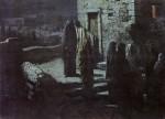 Живопись | Николай Ге | Выход Христа с учениками с Тайной вечери в Гефсиманский сад