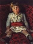 Живопись | Николай Ге | Портрет Николая Ге, внука художника, 1889