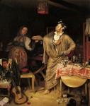 Живопись | Павел Федотов | «Свежий кавалер». Утро чиновника, получившего первый крестик, 1848