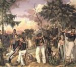 Живопись | Павел Федотов | Бивуак лейб-гвардии гренадёрского полка, 1843
