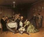 Живопись | Павел Федотов | Все холера виновата, 1848