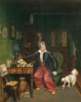 Живопись | Павел Федотов | Завтрак аристократа, 1849-50