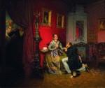 Живопись | Павел Федотов | Разборчивая невеста, 1847