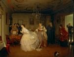 Живопись | Павел Федотов | Сватовство майора, 1848