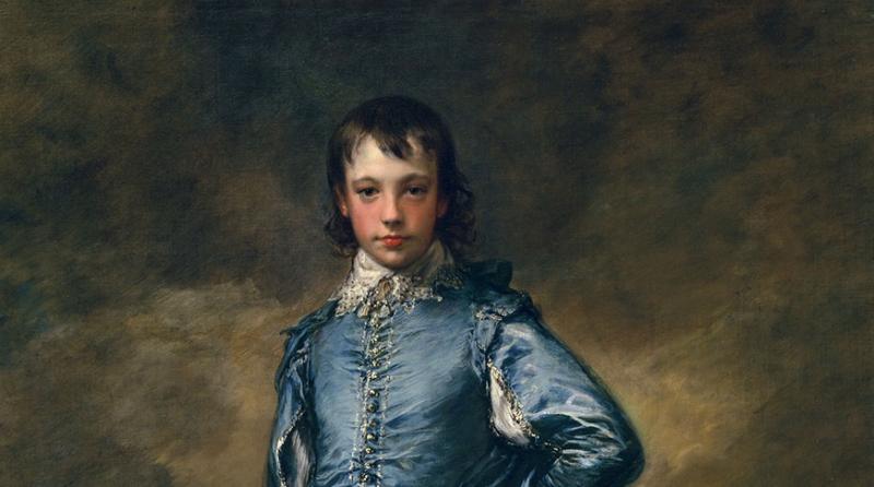 Томас Гейнсборо: портрет в серебристо-голубых тонах