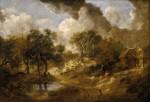 Живопись | Томас Гейнсборо | Пейзаж в Саффолке, 1746-50
