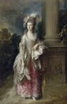 Живопись | Томас Гейнсборо | Портрет миссис Мэри Грэм, 1775