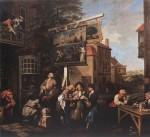 Живопись | Уильям Хогарт | Выборы в парламент | Агитация, 1753-54