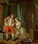 Живопись | Уильям Хогарт | После обольщения, 1731