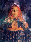 Живопись | Филипп Малявин | Верка, 1913