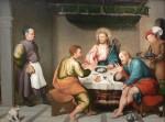 Живопись | Якопо Бассано | Ужин в Эммаусе, 1538