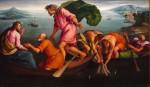 Живопись | Якопо Бассано | Чудесный лов рыбы, 1545