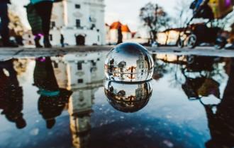 Андрюс Александравичус: снимки сквозь сферу