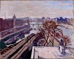 Живопись| Альбер Марке | Вид на Сену и памятник Генриху IV, около 1906
