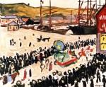 Живопись| Альбер Марке | Карнавал на пляже, 1906