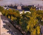 Живопись| Альбер Марке | Набережная Лувра и Новый мост, 1906
