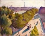 Живопись| Альбер Марке | Набережная Лувра, лето, около 1906