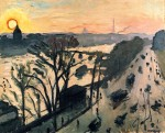 Живопись| Альбер Марке | Набережная Лувра, 1905