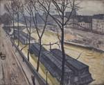 Живопись| Альбер Марке | Париж зимой. Набережная Бурбон, 1907