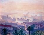Живопись| Альбер Марке | Порт Алжира в дымке, 1943