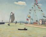 Живопись| Альбер Марке | Порт в Онфлере, 1911