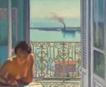 Живопись| Альбер Марке | Контражур. Алжир, 1924
