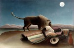 Живопись | Анри Руссо | Спящая цыганка, 1897