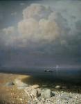 Живопись | Архип Куинджи | Ладожское озеро, 1873