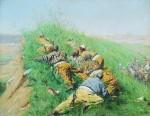 Живопись | Василий Верещагин | Высматривают, 1873