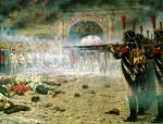 Живопись   Василий Верещагин   В покорённой Москве («Поджигатели» или «Расстрел в Кремле»), 1887-88
