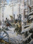 Живопись | Василий Верещагин | В штыки! Ура! Ура! («Атака»), 1887-95