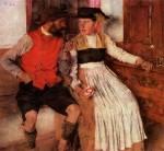Живопись | Вильгельм Лейбль | В крестьянской горнице, 1890