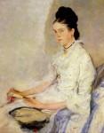 Живопись | Вильгельм Лейбль | Розин Фишлер, графиня Трюберг, 1878