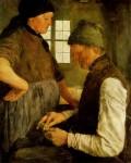 Живопись | Вильгельм Лейбль | Сбережения на черный день, 1877