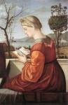 Живопись | Витторе Карпаччо | Дева за чтением, 1510