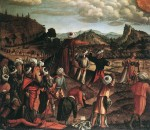 Живопись | Витторе Карпаччо | Побиение камнями Святого Стефана, 1520