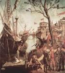 Живопись | Витторе Карпаччо | Прибытие св. Урсулы во время осады Кельна, 1498