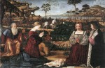 Живопись | Витторе Карпаччо | Святое Семейство, 1505