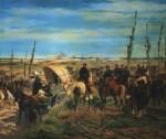 Живопись_Джованни Фаттори_Итальянскии лагерь в битве при Мадженте, 1862